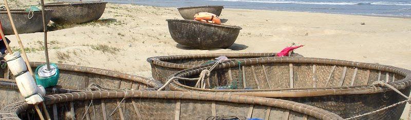 Вьетнамские лодки-корзины