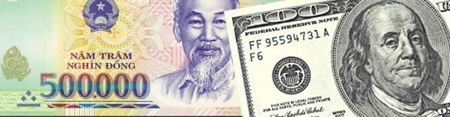 донг и доллар
