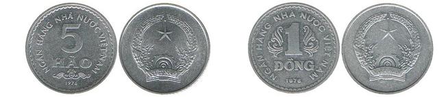 монеты во вьетнаме