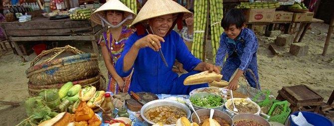 вьетнам кафе на улице