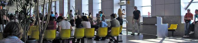 Аэропорт Хургады Зал ожиданиа