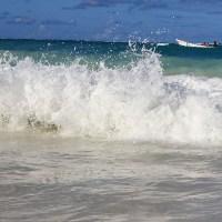 Пунта Кана большие волны на море