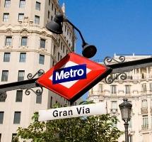 станция метро в мадриде