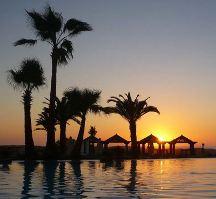 закат в марокко